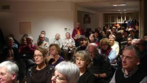 Participants à la réunion d'information